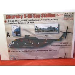 Sikorsky S-65 inkl.österreichischer Luftstreitkräfte