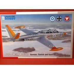 Fouga CM.170 Magister österreichische Luftwaffe