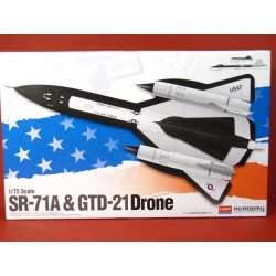 SR-71A with GTD-21 Drone
