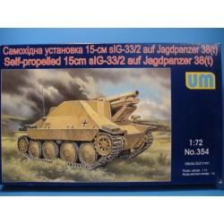 SP 15cm auf Jagdpanzer 38(t)