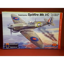 "Supermarine Spitfire MkVc ""four Barrels over Malta"""