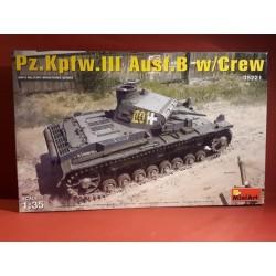 Panzer III Ausf.B mit Besatzung