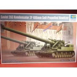 Soviet 2A3 Kondensator 2P 406mm Self-Propelled Howitzer
