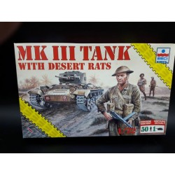 MK II Tank with Dessert Rats