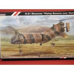H-21 Shawnee flying Banana over Vietnam