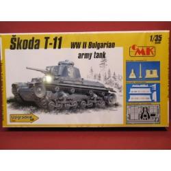 Skoda T-11 Bulgarian Tank