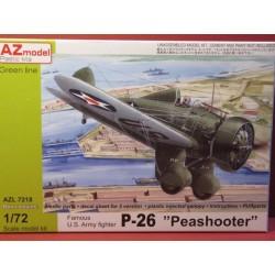Boeing P-26A Peashooter Decals USAAC Wheeler Field