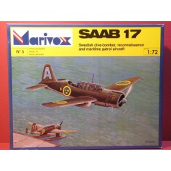 Saab 17. WWII Reconnaissance, Maritime Patrol, Dive Bomber