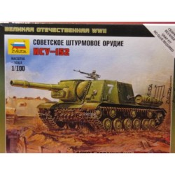 Russian ISU-152 Self Propelled Gun