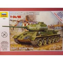 Russian T-34/85 Soviet Medium Tank...