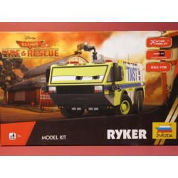Ryker from Disney Planes fire & Rescue (No glue ...