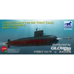 Chinese PLA Navy Yuan Class Attack Subm Submarine