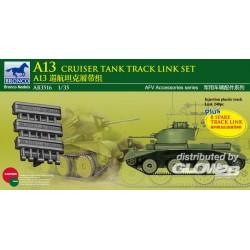 A13 Cruiser Tank MK.III Track Link Set