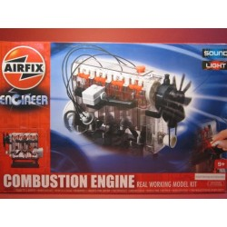 Internal Combustion Engine. Real working model k...