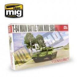 T-64A Main Battle Tank Mod 1981