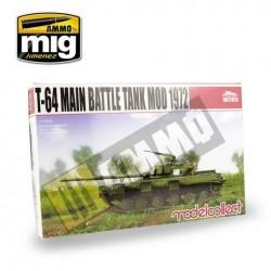 T-64 Main Battle Tank Mod 1972