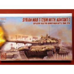 Syrian War T-72BM w.Kontakt-1 explosive reactive armor Main Battle Tank