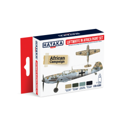 Luftwaffe in Africa paint set