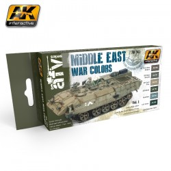 MIDDLE EAST WAR VOL.1 COLORS SET