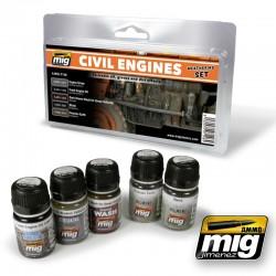 CIVIL ENGINES WEATHERING SET