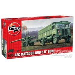 AEC Matador & 5,5 inch Gun