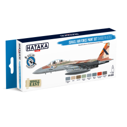 HTK-BS62 Israeli Air Force paint set (modern jets)