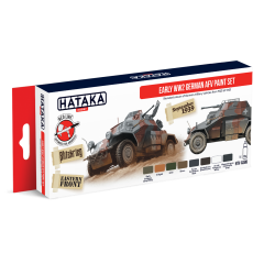 HTK-AS88 EARLY WW2 GERMAN AFV PAINT SET